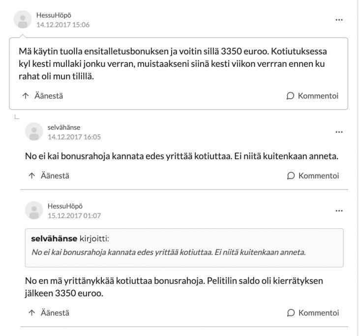 Sloty casino kokemuksia Suomi24