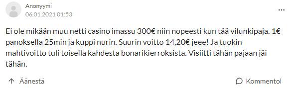 suomikasino kokemuksia suomi24