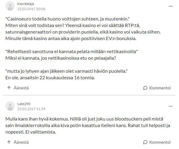 casinoeuro kokemuksia suomi24