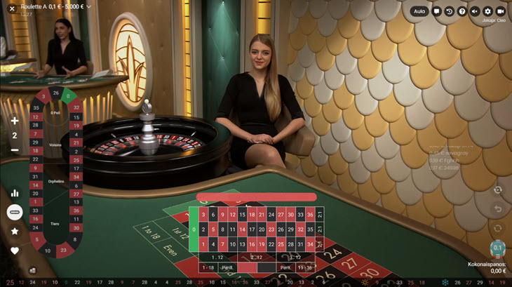 kasino ruletti
