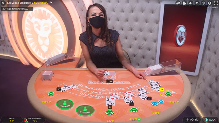 parhaat rahapelit blackjack